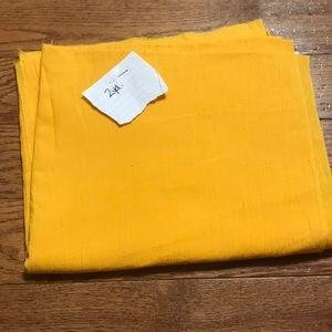 2yd marigold blouse fabric